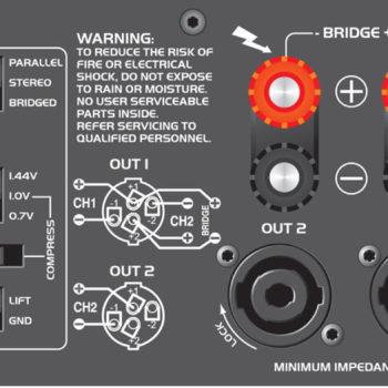 Citronic PLX2800 Power Amplifier