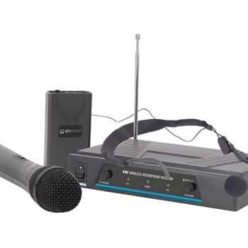 QTX VHN2 Handheld And Neckband VHF Wireless System