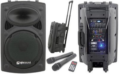 QTX QR12PA Portable PA Unit