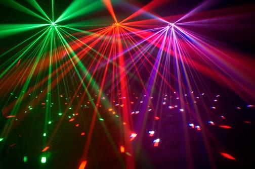 American DJ Quad Phase HP + UC-IR Remote Control