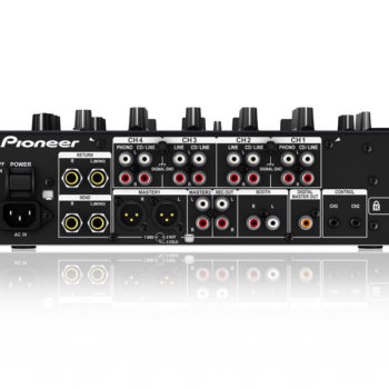 Pioneer DJM-750-K DJ Mixer + FREE PAIR DAS-XLR030R CABLES