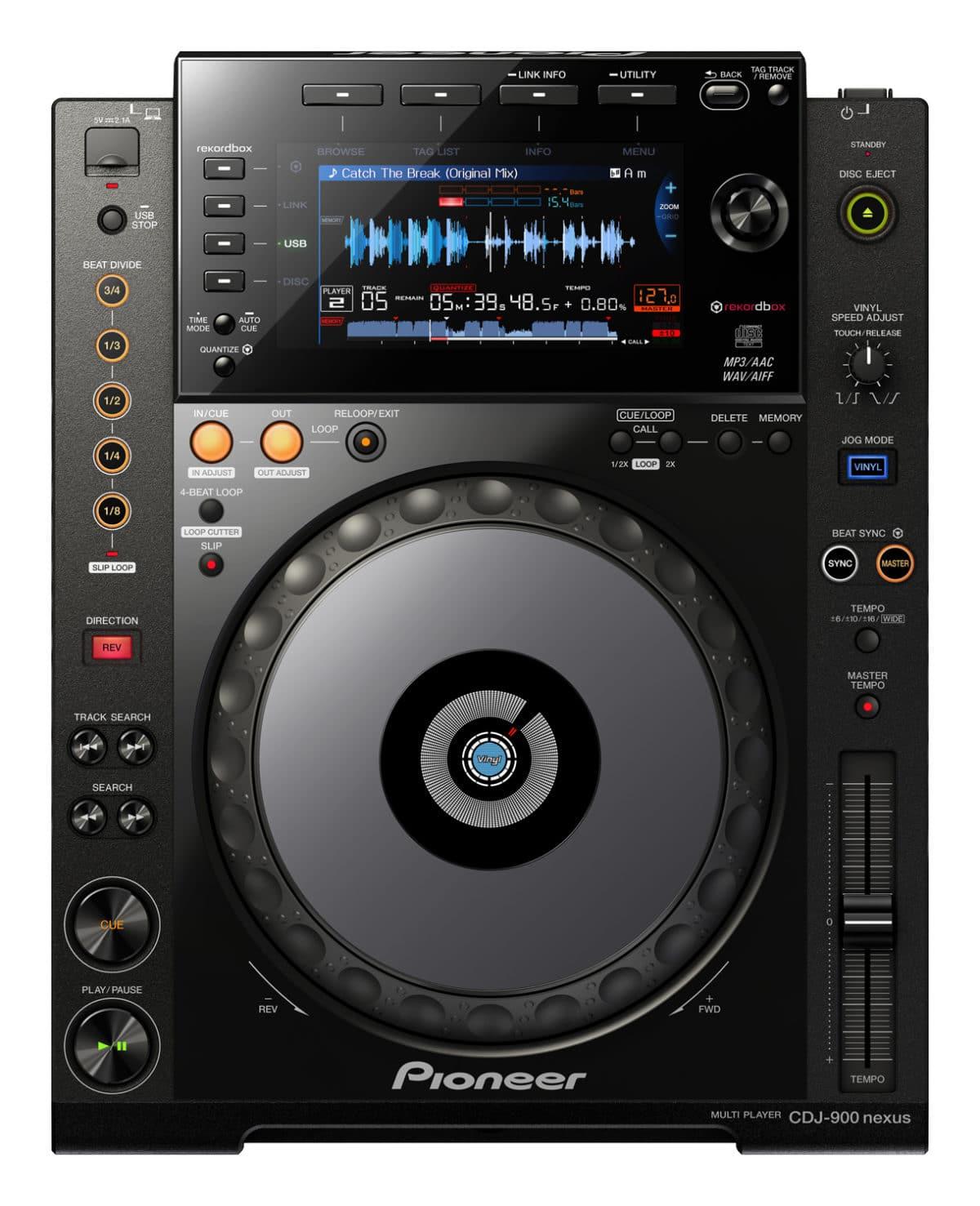 Pioneer CDJ-900 Nexus Pro Multi Player