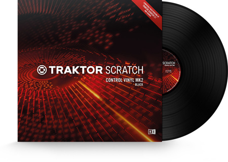 Native Instruments Traktor Scratch MkII Timecode Vinyl