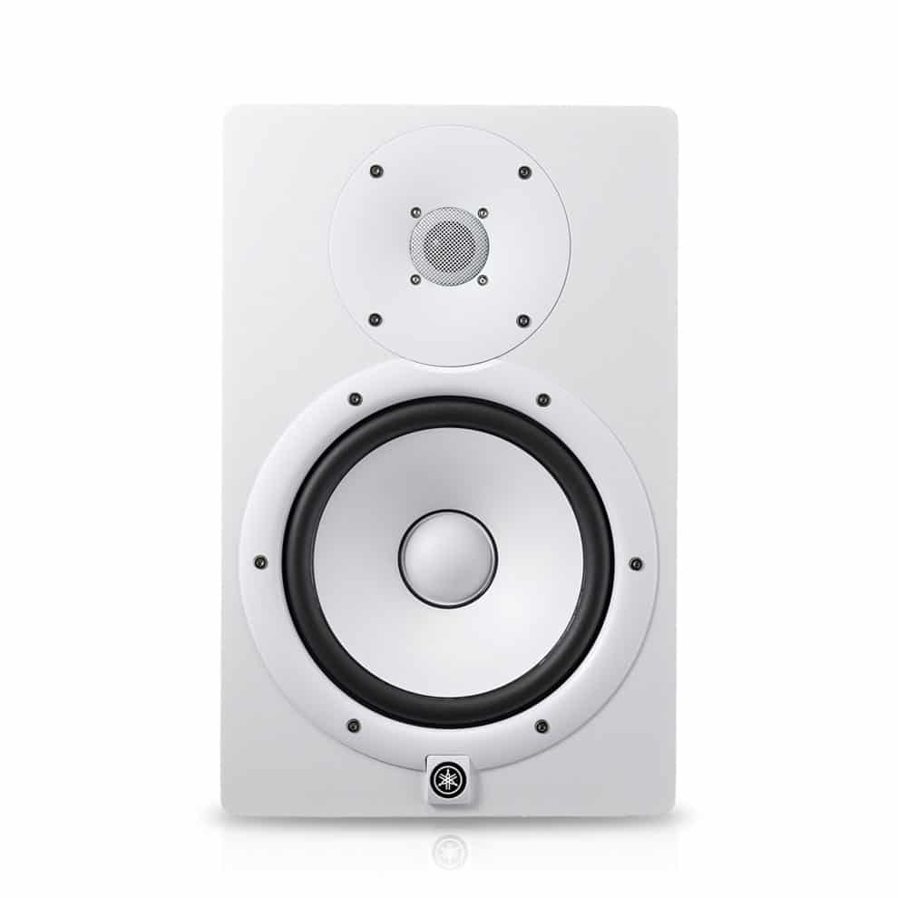 Yamaha HS8 Active Reference Monitor - Single (White)