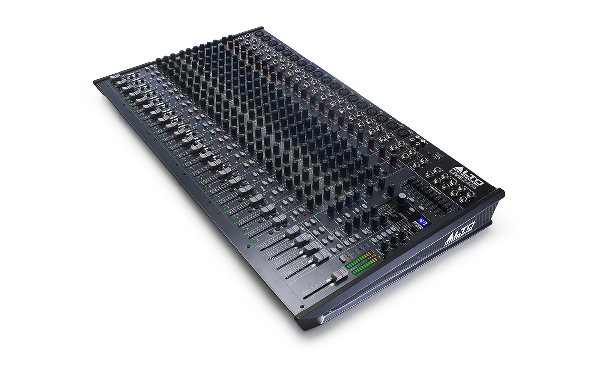 Alto Live 2404  24-Channel Mixer with Effects and USB Interface