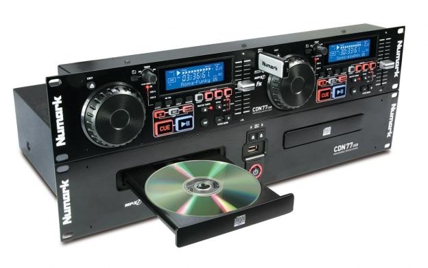 Numark CDN77USB Dual USB/MP3 CD player