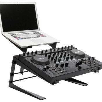 Ibiza Sound SLAP190 Dual DJ Laptop And Monitor Stand