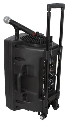 Ibiza Sound PORT12UHF-BT PORTABLE PA SYSTEM WITH USB