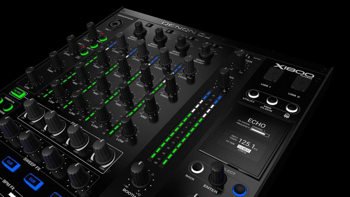 Denon DJ X1800 Prime Mixer (ex demo)