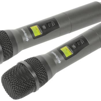 Citronic RU210-H Tuneable Dual UHF Microphone System