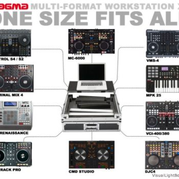 Magma Workstation Multiformat XL for various DJ controllers