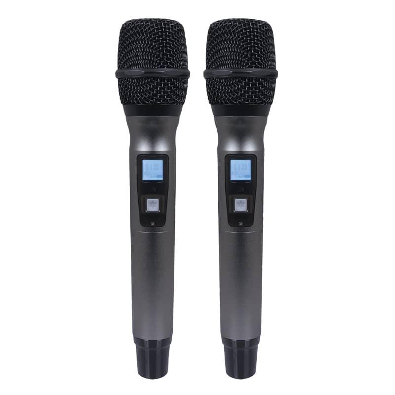 W-Audio DTM 800H Twin Handheld Diversity System (863.0Mhz-865.0M