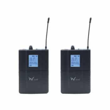 W-Audio DTM 600 Twin Beltpack Diversity System (606.0Mhz-614.0Mh