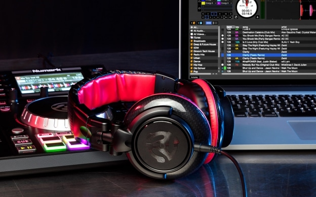 Numark Red Wave Carbon High-quality Full-range Headphones