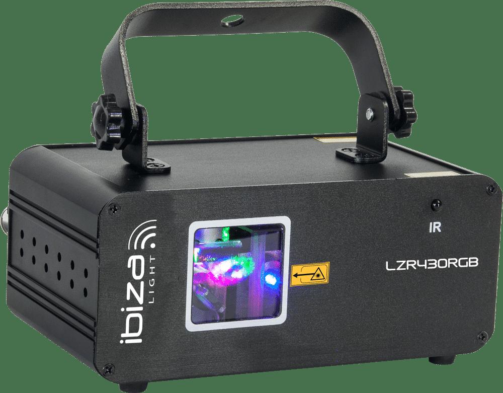 Ibiza Light LZR430RGB Graphic Laser 430mw