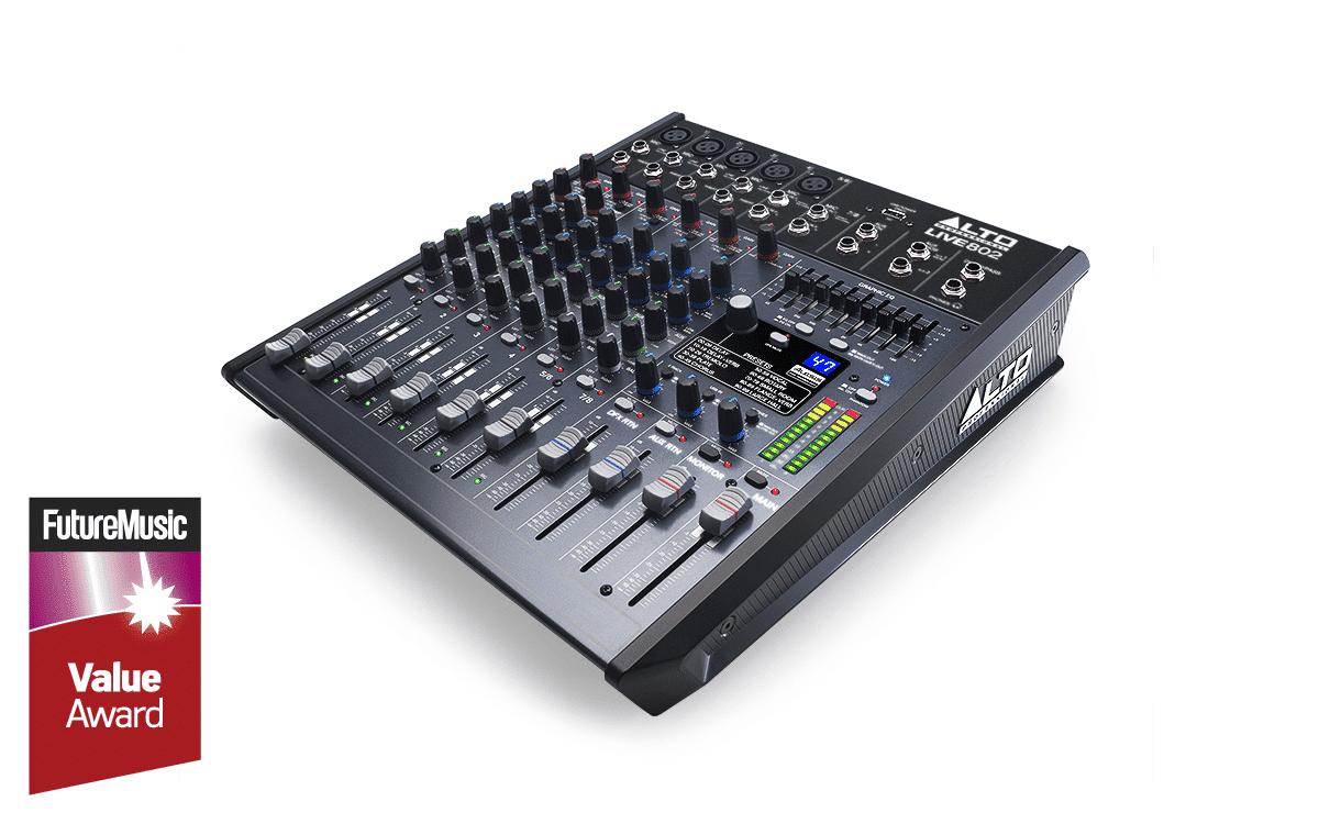 Alto Professional Live 802 Professional 8-Channel/2-Bus Mixer