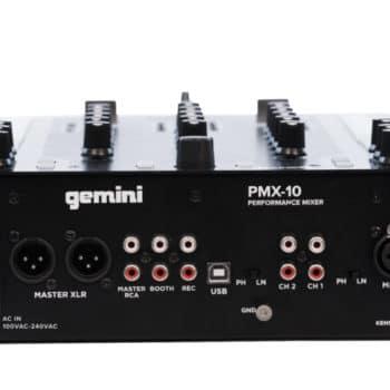 Gemini PMX-10 Digital DJ Mixer