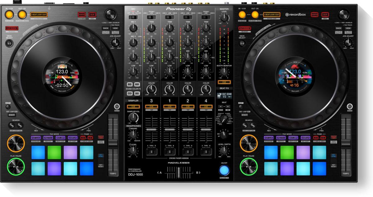 Pioneer DDJ1000 4Ch DJ Controller