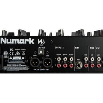 Numark M6 USB four-Channel USB DJ Mixer