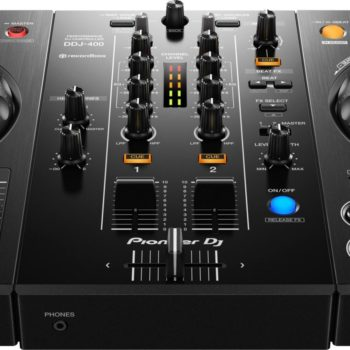 Pioneer DDJ-400 2 channel DJ controller for rekordbox dj