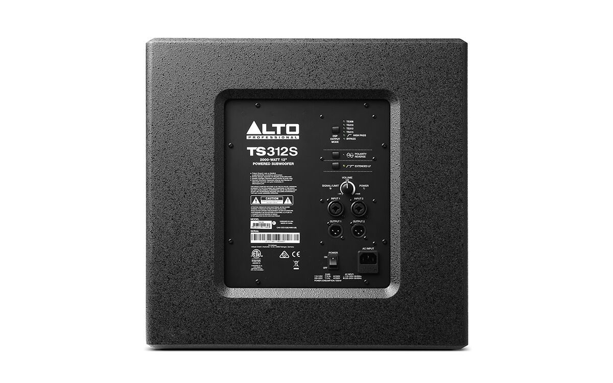 Alto Professional TS312S Powered Subwoofer