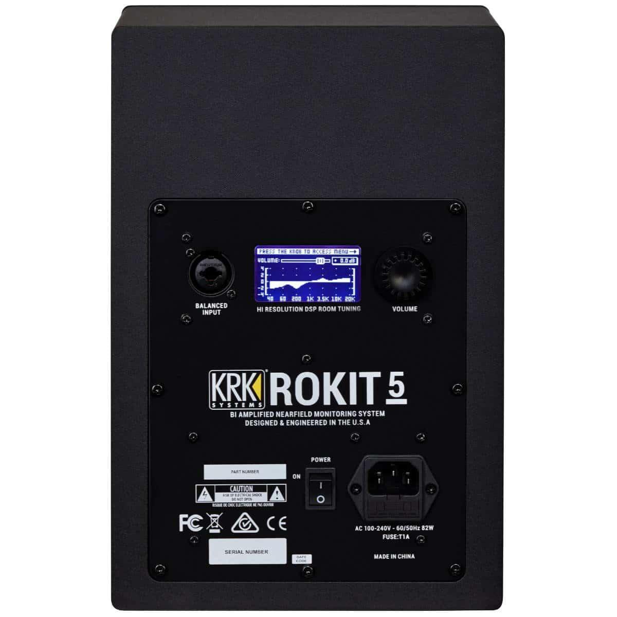 KRK Rokit RP5 G4 Active Studio Monitor