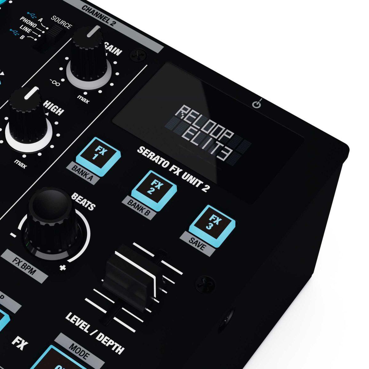Reloop Elite high Performance DVS Mixer For Serato
