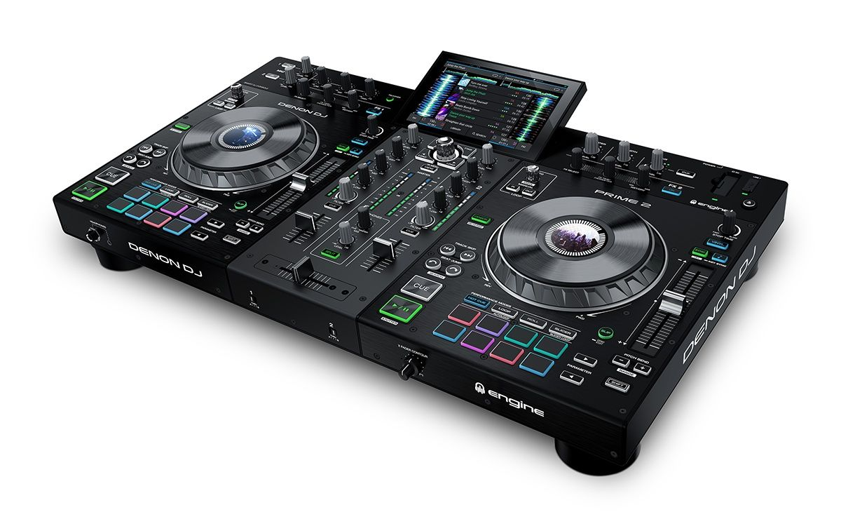 "Denon DJ Prime 2 Smart DJ Console with 7"" Touchscreen"