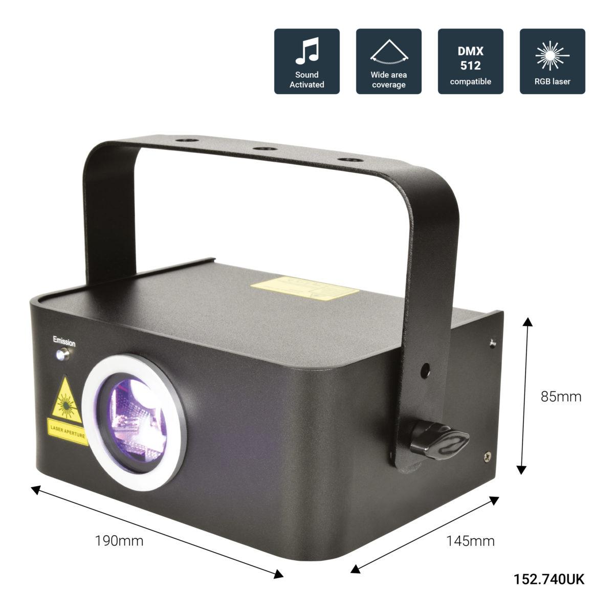 QTX Starscape Multi-Colour Effect Laser
