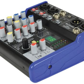Citronic CSD-4 Compact Mixer with BT receiver + DSP Effects