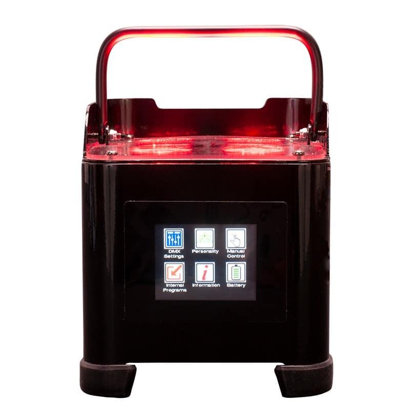 ADJ Element ST HEX 4 x 6-Watt RGBAW+UV Battery Powered Up Lighte