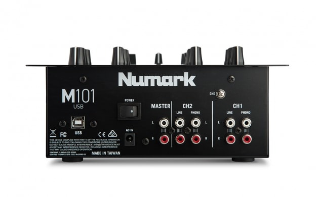 Numark M101USB 2-Channel All-Purpose Mixer with USB