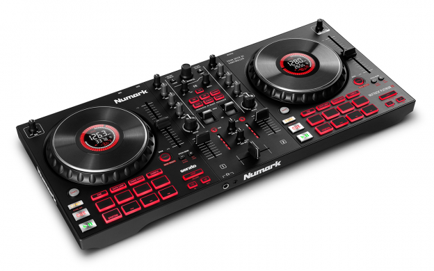 Numark Mixtrack Platinum FX 4-Deck Advanced DJ Controller with J