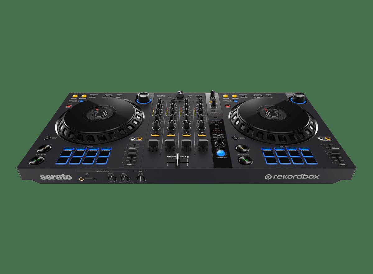 Pioneer DDJ-FLX6- 4-channel DJ controller for rekordbox and Serato DJ Pro